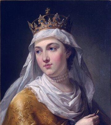 Jadwiga Andegaweńska (aut. Marcello Bacciarelli, między 1768 a 1771 rokiem)