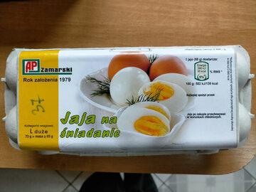 Jajka wycofane z obrotu