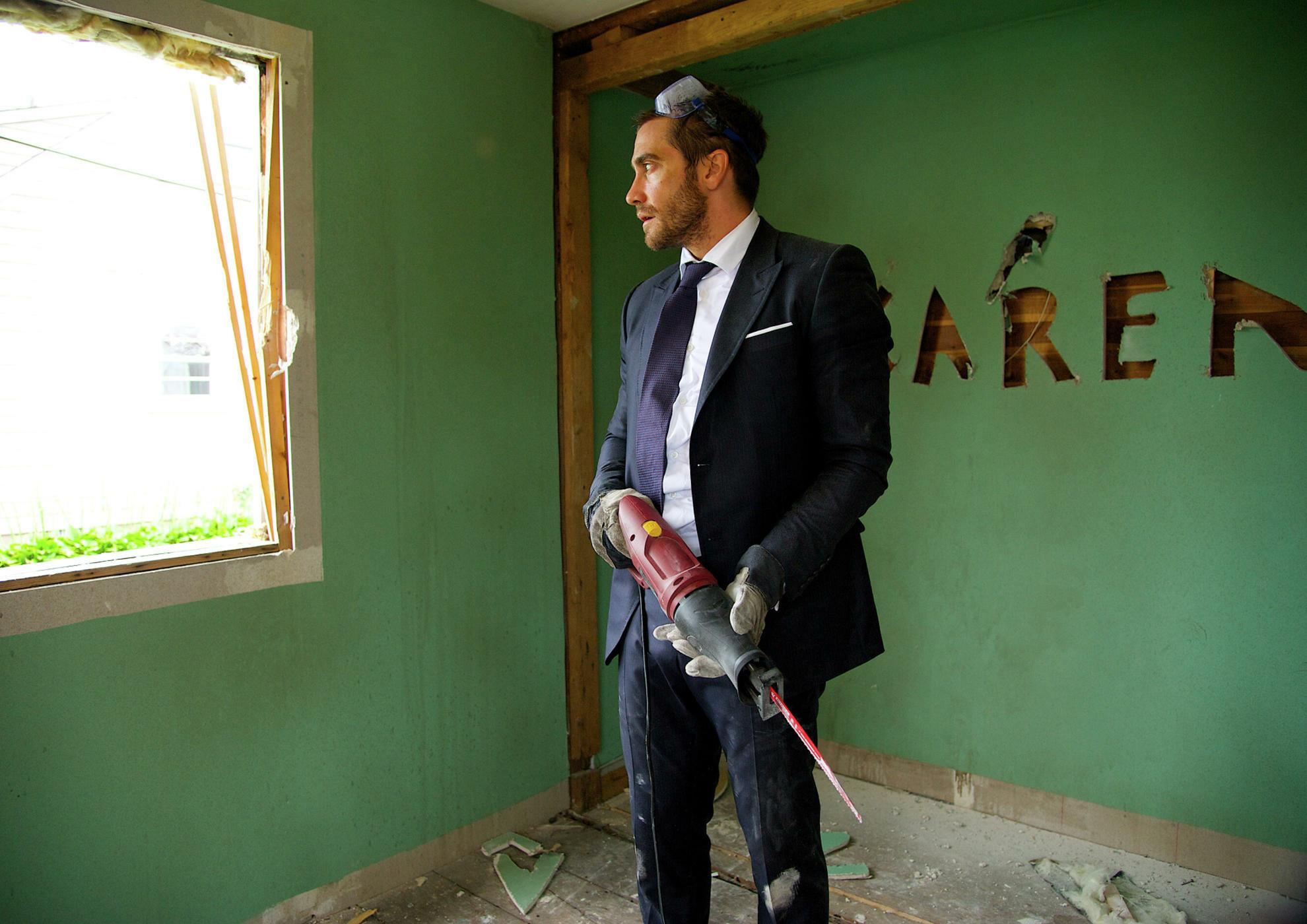 Jake Gyllenhaal jako Davis Mitchell w filmie Demolition (2015)