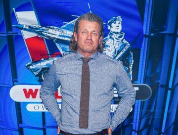 Jakorsław Jakimowicz w studiu TVP, fot. Marek Konrad/Newspix