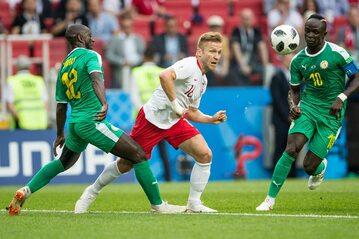 Jakub Błaszczykowski w meczu z Senegalem
