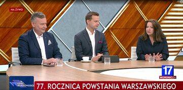 Jakub Kulesza i Joanna Lichocka w TVP