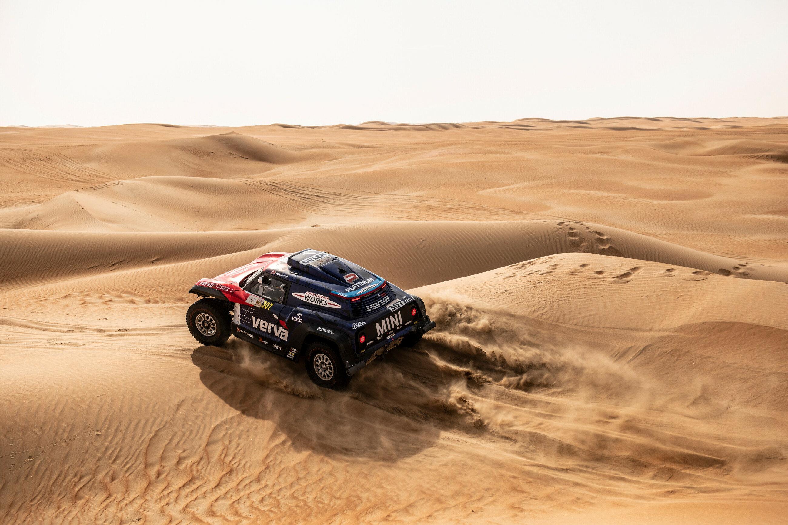 Jakub Przygoński na trasie Rajdu Dakar 2019