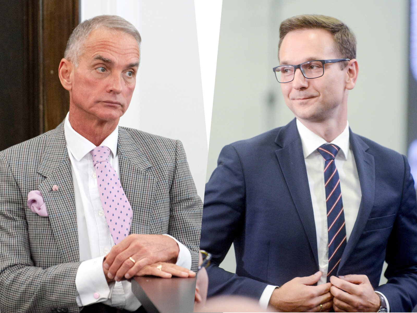 Jan Maria Jackowski, Waldemar Buda