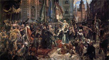 Jan Matejko, Konstytucja 3 Maja 1791 roku, 1891