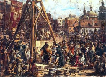 Jan Matejko, Powtórne zajęcie Rusi. Bogactwo i oświata. R.P. 1366