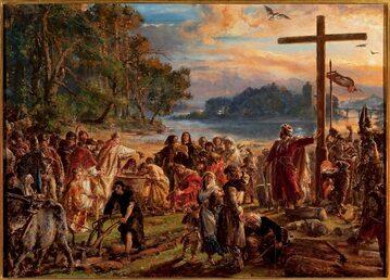 Jan Matejko, Zaprowadzenie chrześcijaństwa