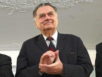 Jan Olszewski, były premier, zdj. z 2007 roku