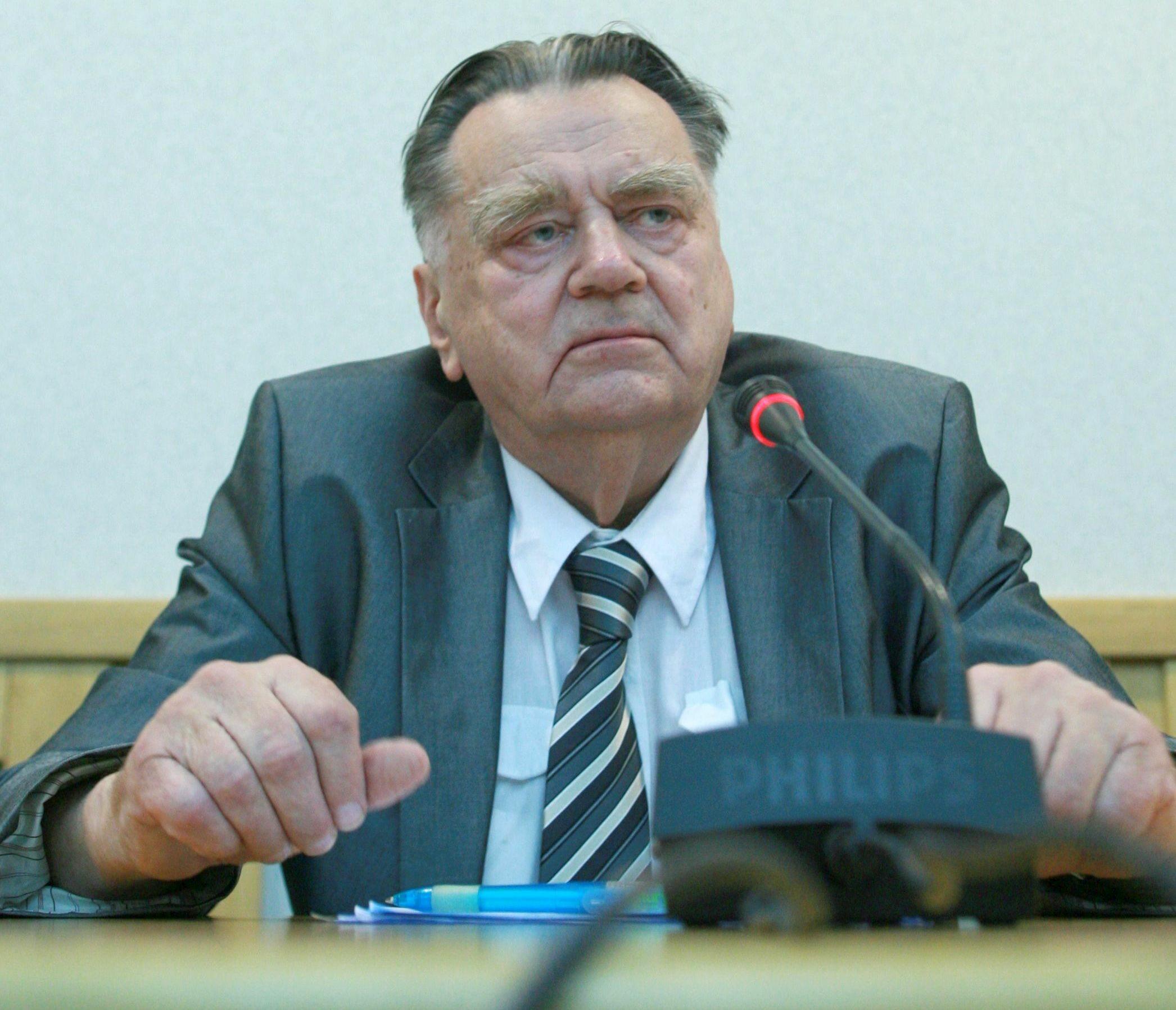 Jan Olszewski, były premier