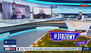 """Jan Pietrzak w """"#Jedziemy"""""""