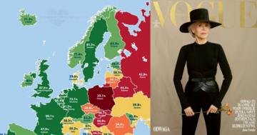 Jane Fonda w nowym Vogue wspiera Polki. W dostępie do antykoncepcji zajmujemy ostatnie miejsce w Europie.