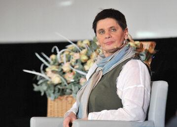 Janina Ochojska w 2015 r.