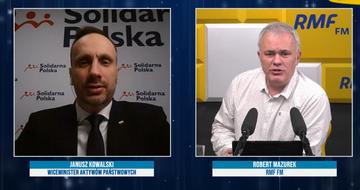 Janusz Kowalski i Robert Mazurek
