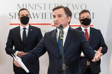 Janusz Kowalski, Zbigniew Ziobro, Michał Wójcik