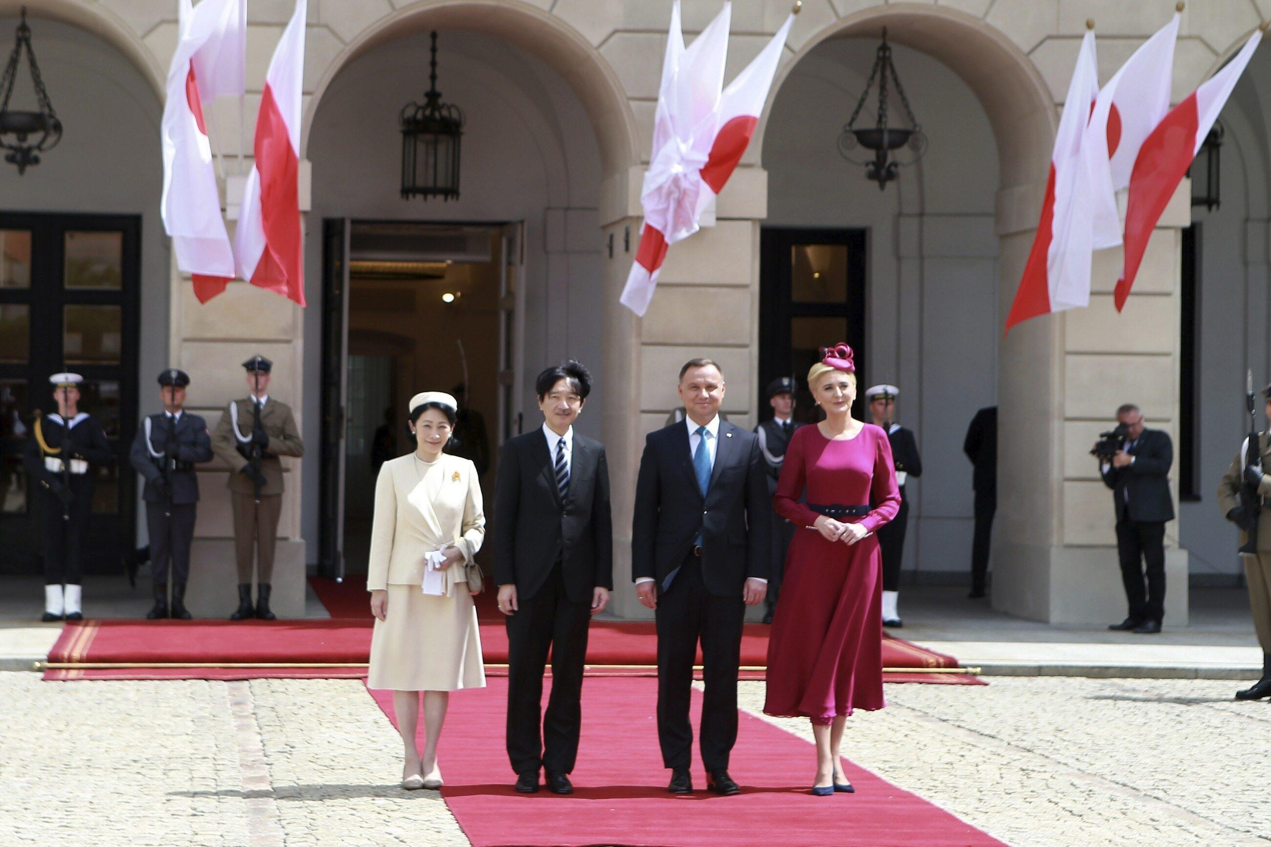 Japońska para książęca przyjechała do Polski