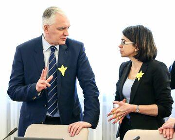 Jarosław Gowin i Anna Streżyńska