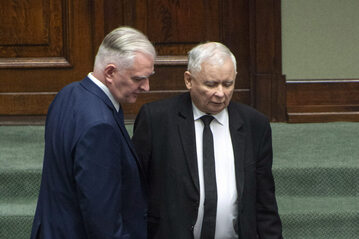 Jarosław Gowin i Jarosław Kaczyński