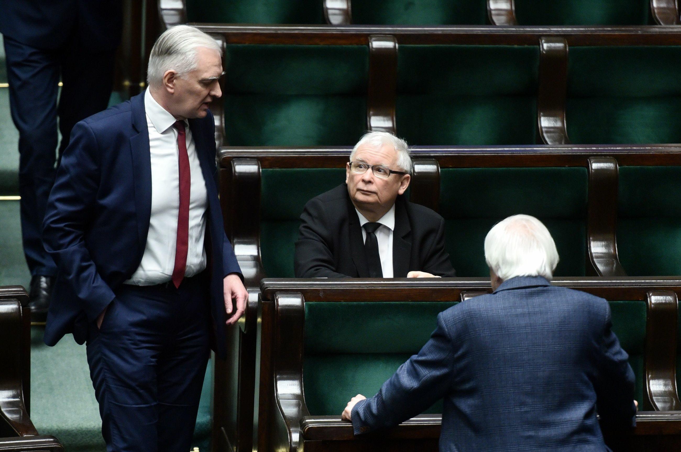 Jarosław Gowin, Jarosław Kaczyński i Ryszard Terlecki