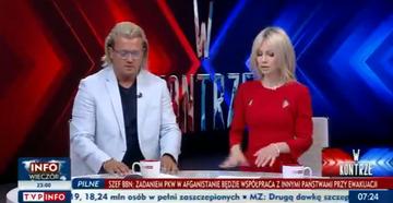 """Jarosław Jakimowicz i Magdalena Ogórek w programie """"W kontrze"""""""