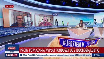 """Jarosław Jakimowicz, Jacek Wrona i Michał Rachoń w programie """"#Jedziemy"""""""