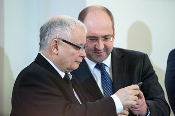 Jarosław Kaczyński, Adam Bielan