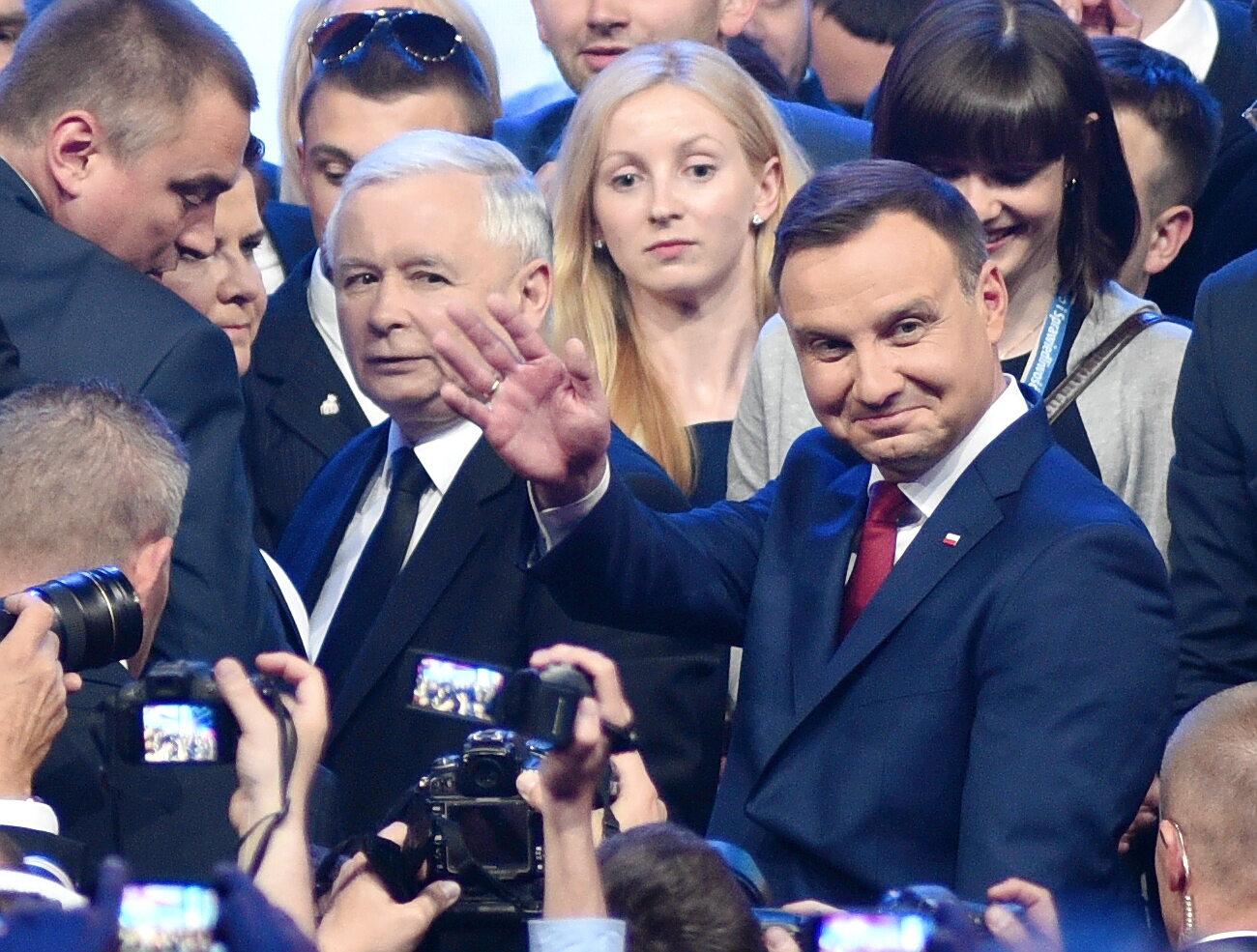 Jarosław Kaczyński, Andrzej Duda