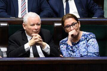 Jarosław Kaczyński, Beata Mazurek