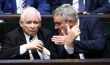 Jarosław Kaczyński i Jan Krzszytof Ardanowski