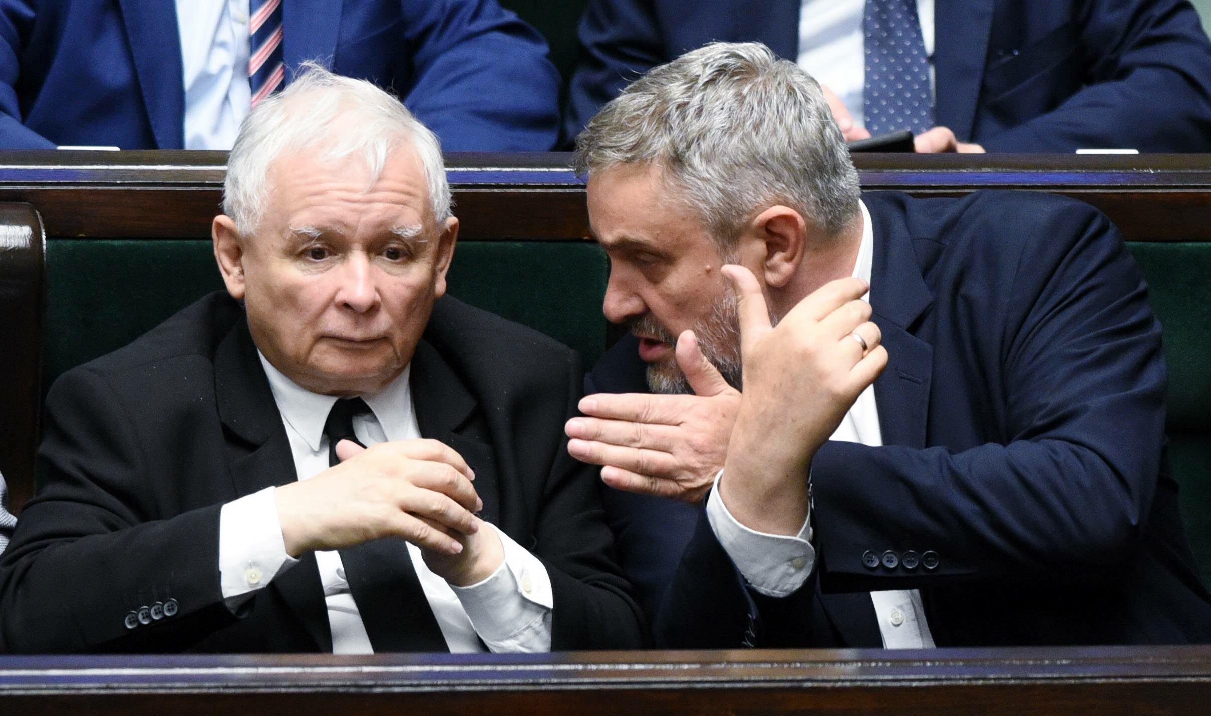 Jarosław Kaczyński i Jan Krzysztof Ardanowski