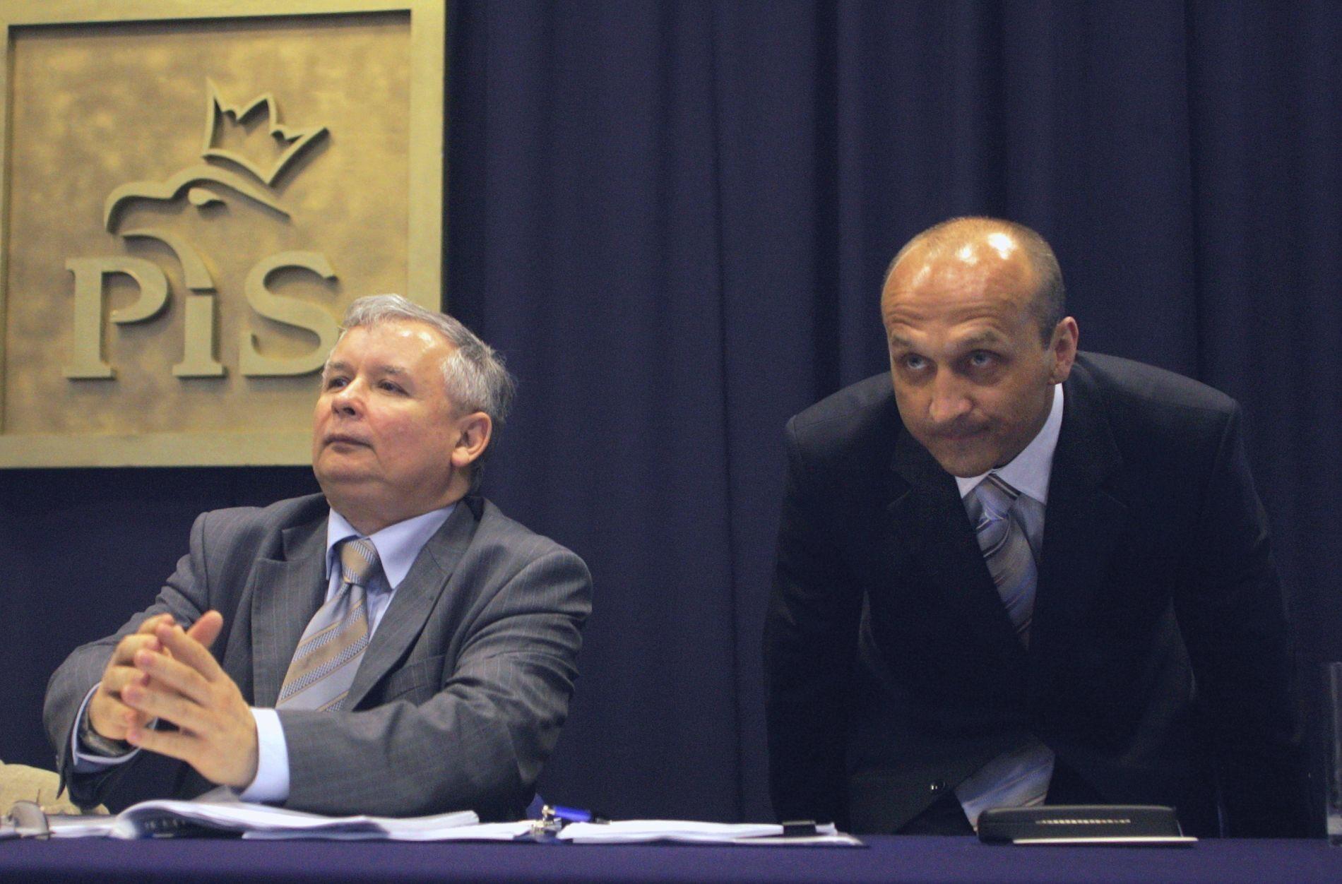 Jarosław Kaczyński i Kazimierz Marcinkiewicz