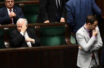 Jarosław Kaczyński i Patryk Jaki