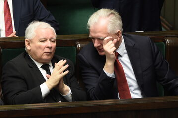 Jarosław Kaczyński, Jarosław Gowin