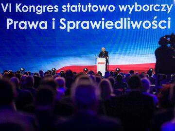 Jarosław Kaczyński na kongresie PiS – 3 lipca
