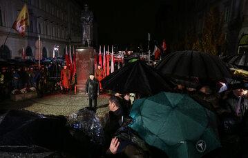 Jarosław Kaczyński na miesięcznicy