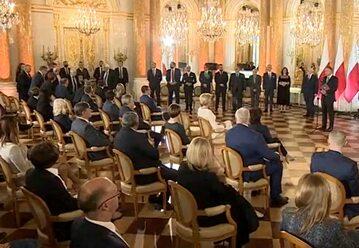 Jarosław Kaczyński spóźnił się na uroczystości