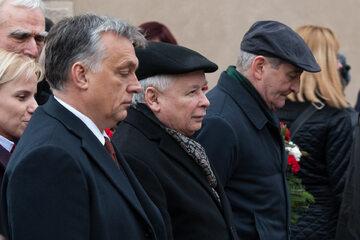 Jarosław Kaczyński, Viktor Orban