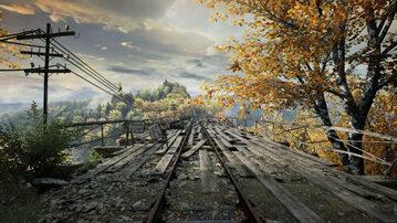 """Jeden z mostów w grze """"Zaginięcie Ethana Cartera"""" – inspirowany mostem na Jeziorze Pilchowickim"""