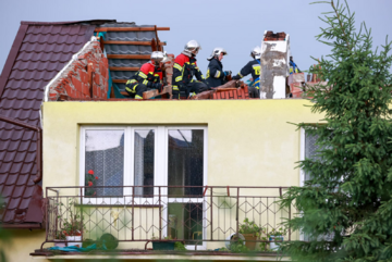 Jedna z interwencji strażaków przeprowadzona w czwartek 24 czerwca