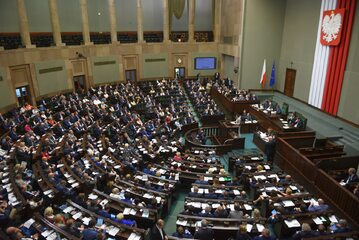 Jedno z głosowań Sejmu VIII kadencji