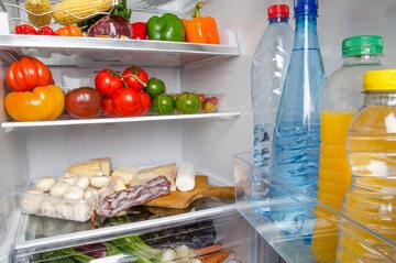 Jedzenie w lodówce