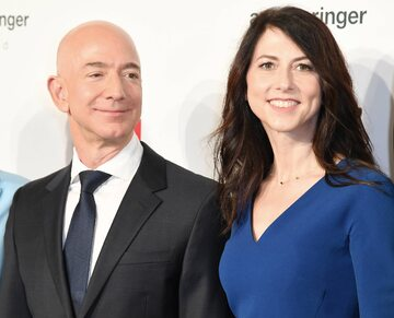 Jeff Bezos i MacKenzie Scott