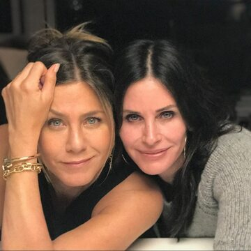 Jennifer Aniston i Courtney Cox