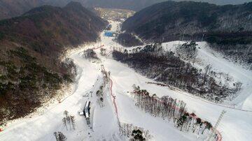 Jeongseon Alpine Centre, jedna z aren IO w Pjongczangu