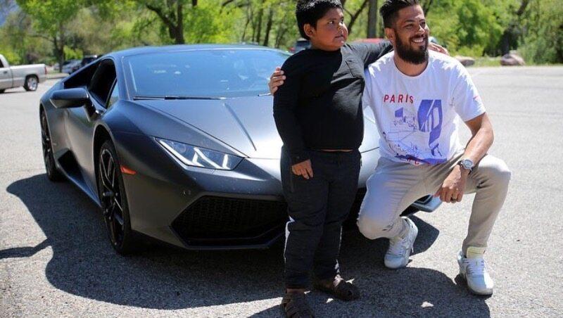 Jeremy Neves spełnił marzenie 5-latka