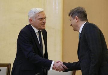 Jerzy Buzek, Janusz Palikot
