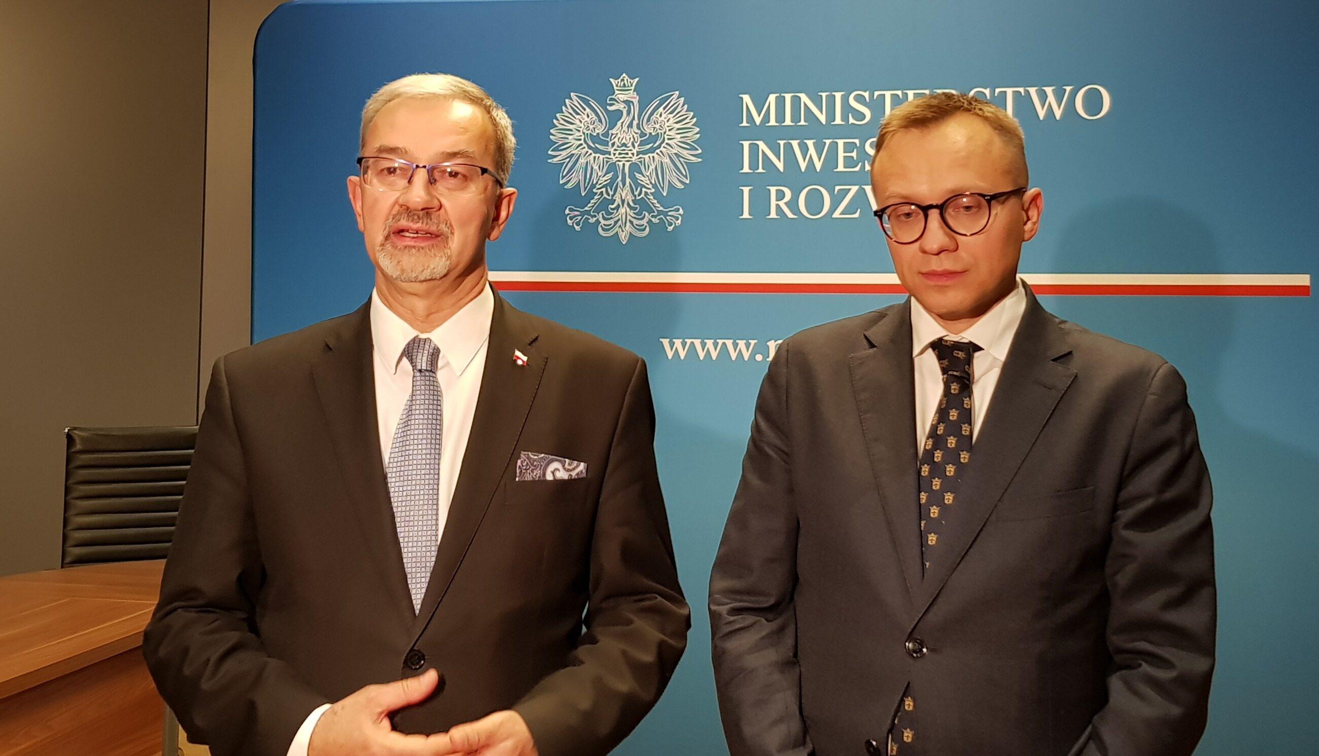 Jerzy Kwieciński i Artur Soboń