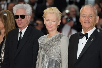 Jim Jarmusch,  Tilda Swinton i Bill Murray