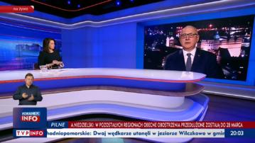 """Joachim Brudziński w programie """"Gość Wiadomości"""""""