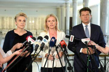 Joanna Scheuring-Wielgus, Joanna Schmidt i Ryszard Petru