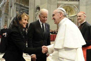 Joe Biden nie miał w planach spotkania z papieżem Franciszkiem (zdjęcie archiwalne)